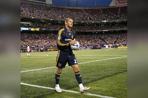 """Davidas Beckhamas (""""Galaxy"""")"""