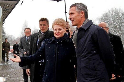 Dalia Grybauskaitė ir Jens Stoltenberg in Vilnius