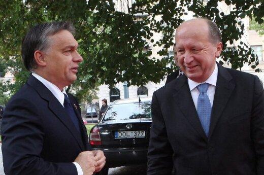 Orbán: Litwini są bardzo szczęśliwi
