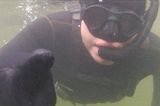 Nufilmavo, kaip atrodo ežero dugnas