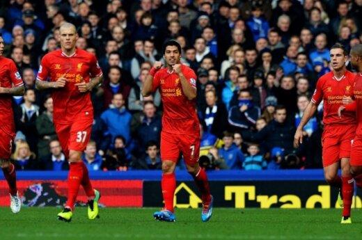 """Liverpool"""" futbolininkai"""