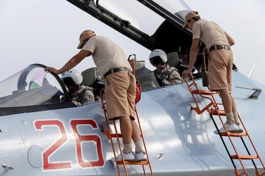 Rusijos lakūnai atsisako bombarduoti Siriją?