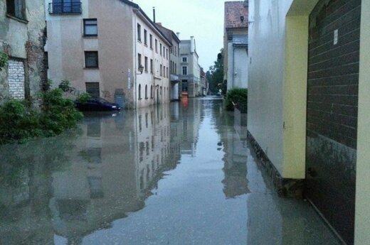 В субботу улицы Клайпеды потекли рекой