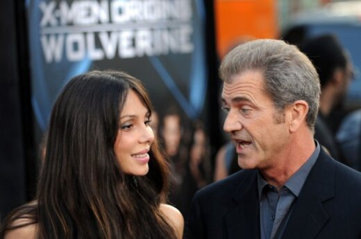 Mel Gibson su drauge Oksana Grigorieva
