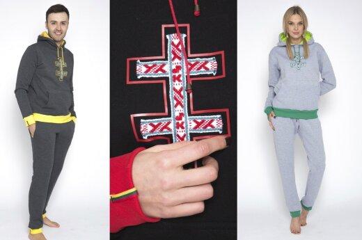 Kitokia laisvalaikio apranga: kūrėjai įkvėpimo sėmėsi iš tautinės simbolikos
