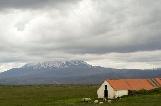 Islandija Ketlos ugnikalnis