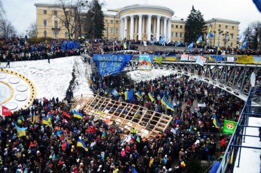 Евромайдан побил рекорд Украины по массовому исполнению гимна