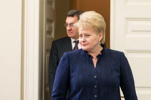 Komar: Czy socjaldemokraci zdecydują się na wojnę z Grybauskaitė?