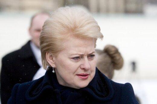 Grybauskaitė: Pracę rządu będę oceniała wówczas, kiedy będzie co oceniać
