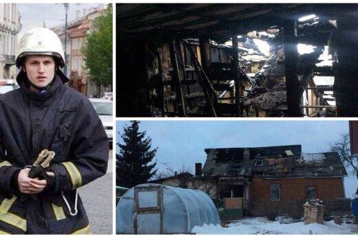 Reikia jūsų pagalbos: jauno ugniagesio namus suniokojo gaisras