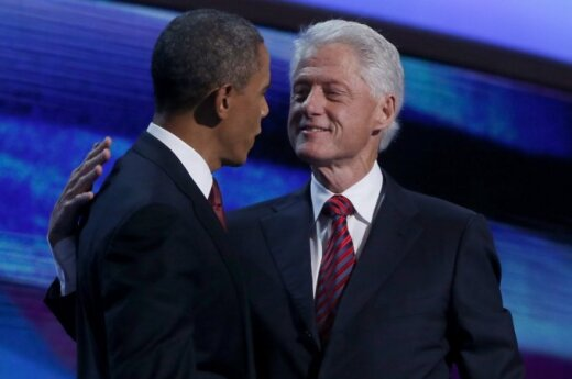 Barackas Obama ir Billas Clintonas