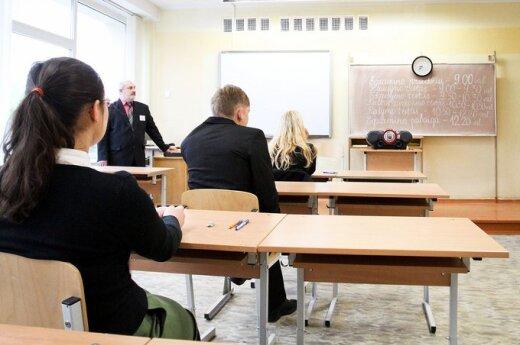 Mokinio krepšelio lėšomis mokamos algos mokytojams?