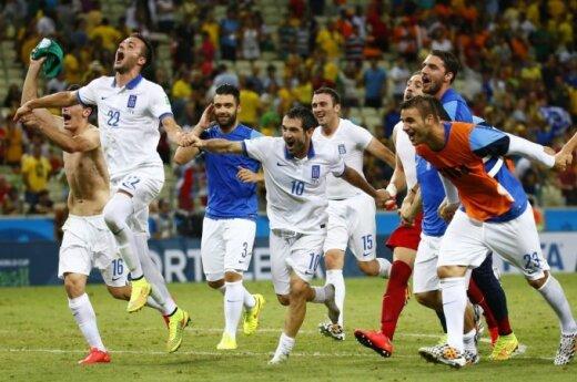 Graikijos futbolininkų triumfas