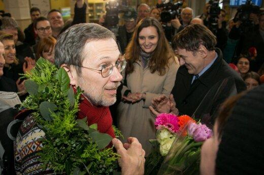 A. Bumblauskui į Lietuvą grįžęs L. Mažylis atsakė citata iš šv. Rašto