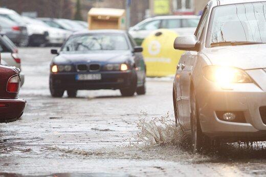 Ekspertai apie skendusius automobilius: neduok Dieve, niekam nelinkėčiau