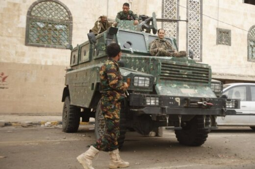 "В Йемене ""Сподвижники Аллаха"" захватили президентский дворец"