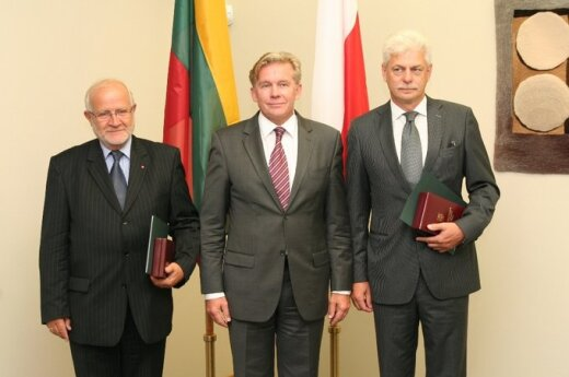 Janas Widackis, Audronius Ažubalis, Wojciechasi Wroblewskis
