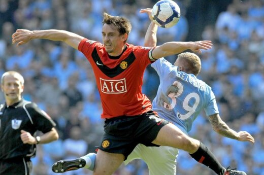 "Gary Neville'as (""Manchester United"")"