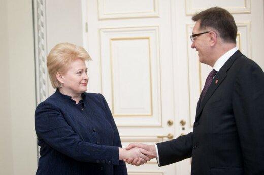 Grybauskaitė nie chce widzieć Partii Pracy w przyszłym rządzie