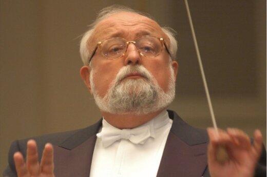 Krzysztof Penderecki (M.Raškovskio nuotr.)