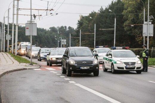 Vilniuje per Narbuto gatvę bus statomas viadukas