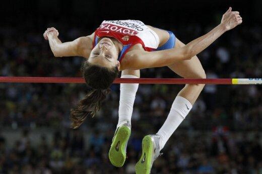 Anna Čičerova - pasaulio šuolių į aukštį čempionė