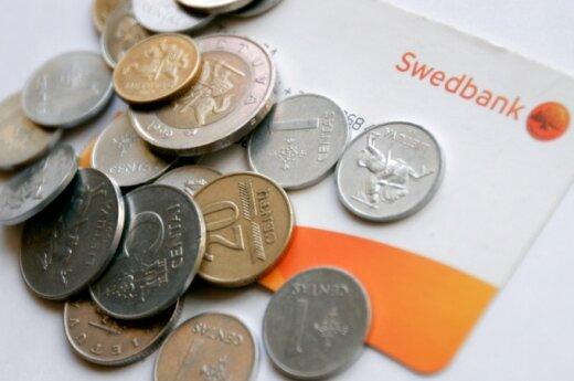 """""""Swedbank"""" klientai vėl buvo susidūrę su paslaugų trikdžiais"""