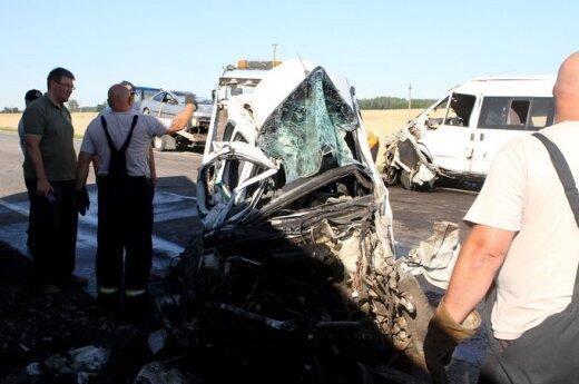 """Przerażający wypadek na trasie """"Via Baltica"""""""