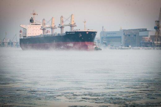 A Lithuanian port