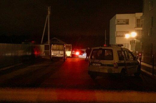 В Каунасе молодого человека расстреляли прямо в машине