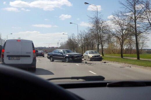 Kaune - dviejų BMW avarija