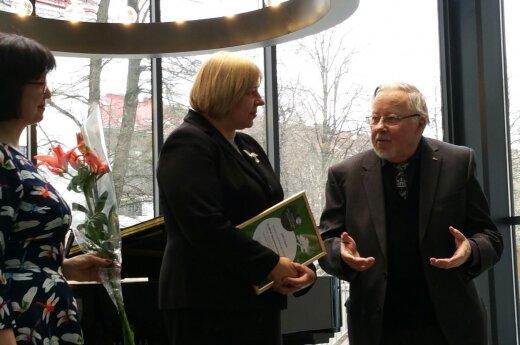 Jūratė Katinaitė, Gražina Daunoravičienė, Vytautas Landsbergis