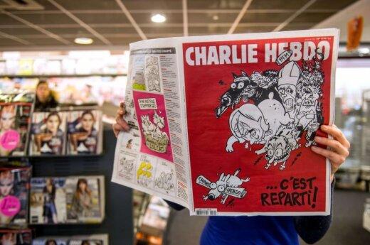 Суд Чечни запретил в России'Твиттер Charlie Hebdo