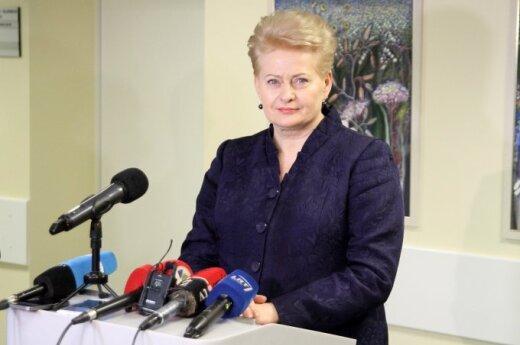 Dalia Grybauskaitė Kauno klinikose