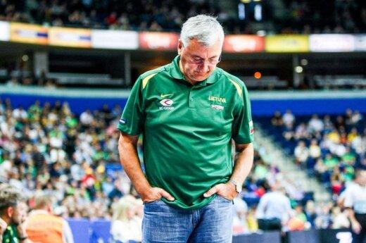 Казлаускас уходит с поста тренера сборной Литвы из-за генсека федерации