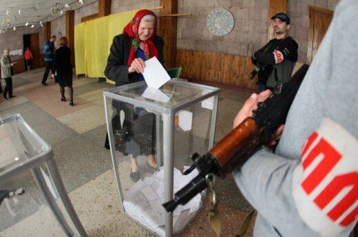 МИД Литвы: голосования в Восточной Украине - незаконные