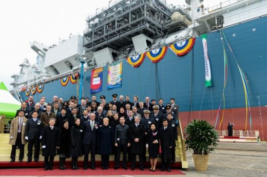 LNG vessel to be protected on its way to Lithuania