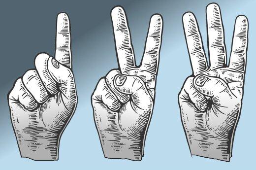 Открытие: длина пальцев человека связана с его уровнем доходов