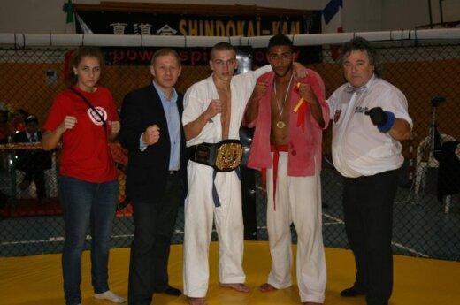 Bartek Markowski, Polak z Wileńszczyzny, Mistrzem Świata w Shindokai-kan karate