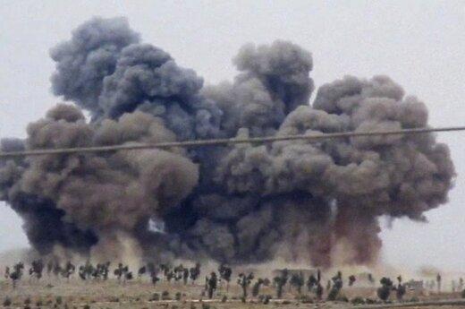 Коалиция требует от России не бомбить повстанцев в Сирии