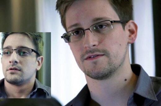 Edwardas Snowdenas ir jo antrininkas aktorius mėgėjas