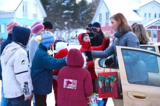 Снежинки добра ПБК достигли детей из SOS-деревни