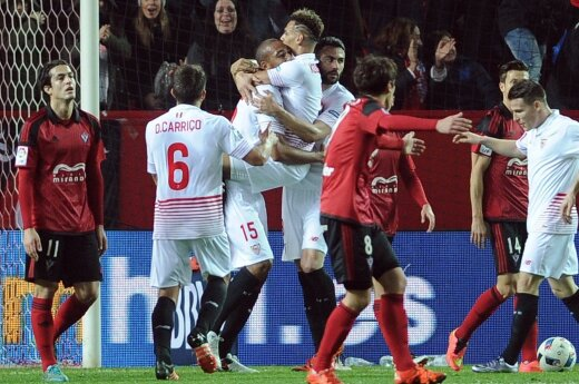 """""""Sevilla"""" klubo futbolininkai"""