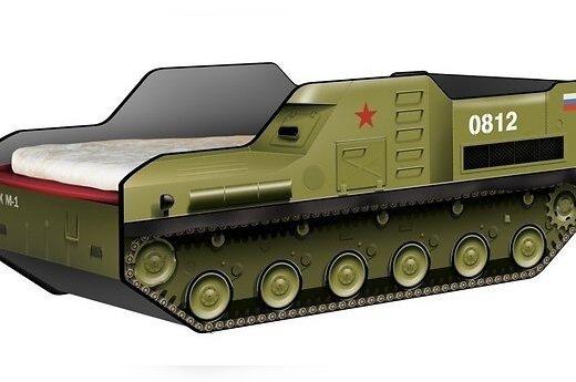 """В России продаются детские кроватки в виде ракетного комплекса """"Бук"""""""