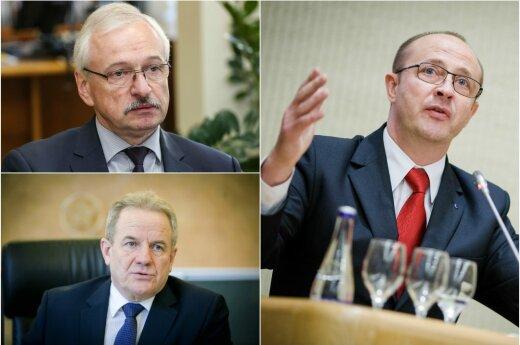 Evaldas Gustas, Kęstutis Trečiokas ir Ričiardas Malinauskas