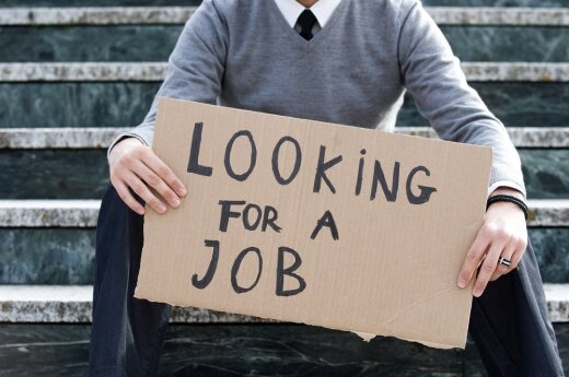 Безрaботных мужчин в Литве больше, чем женщин