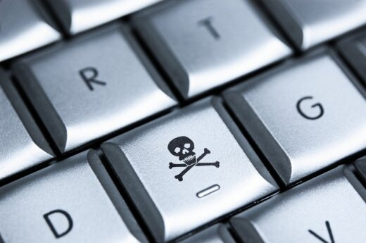 Новый компьютерный вирус пугает литовскими полицейскими