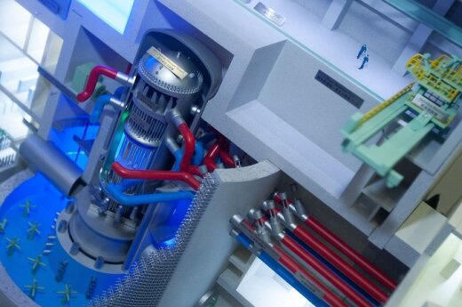 Hitachi reaktoriaus maketas