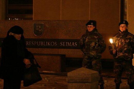 Landsbergis chwali prokuratorów, za działania w tzw sprawie 13 stycznia