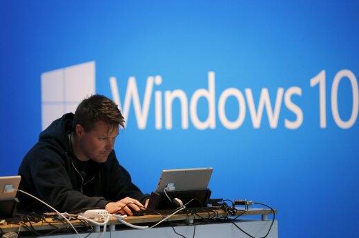 """""""Microsoft"""" per vėlai išplatino naujinį, galėjusį sulėtinti viruso """"WannaCry"""" plitimą"""